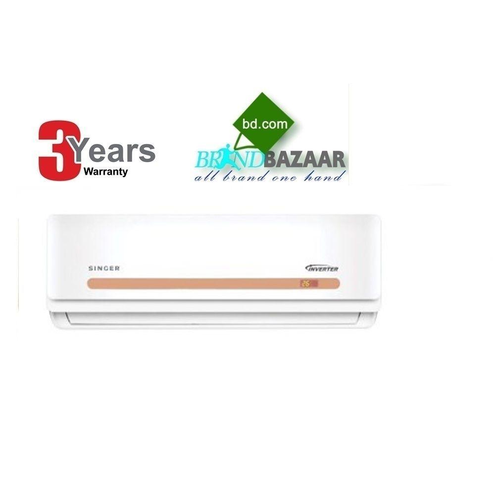 1 5 Ton Singer Inverter Air Conditioner Price In Bangladesh Brandbazaar In 2020 Air Conditioner Prices Singer Led Tv