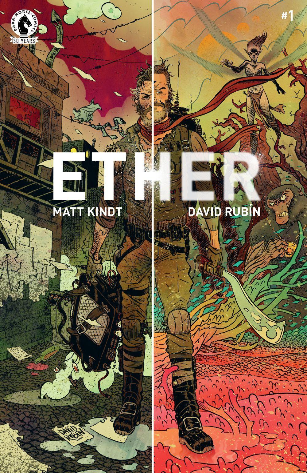 Ether #1 Written by: Matt Kindt Art by: David Rubin 11/15/16