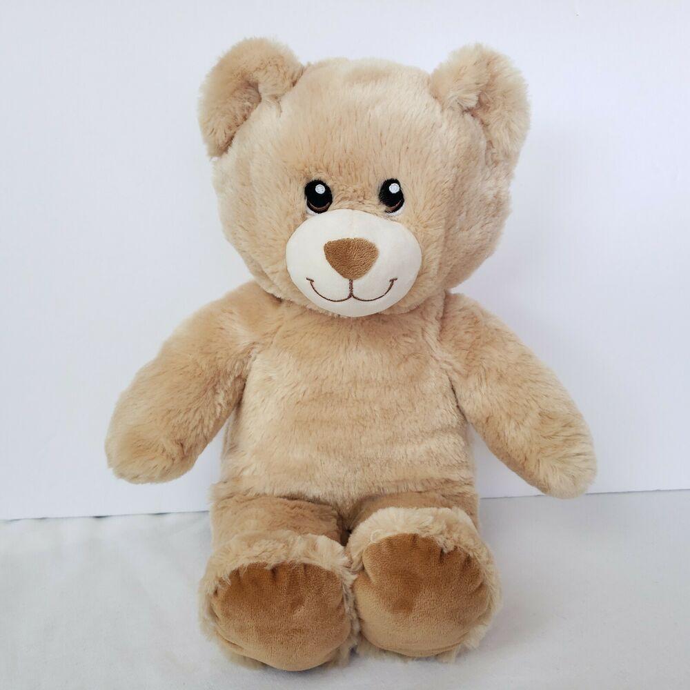 Build A Bear Bab Teddy Bear 16 Inch Beige Brown Soft Cuddly Embroidered Eyes Toy Buildabearworkshop Alloccasion Build A Bear Teddy Bear Build A Bear Dog [ 1000 x 1000 Pixel ]