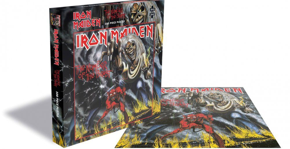 Iron Maiden Number of The Beast 500 Piece Jigsaw Puzzle