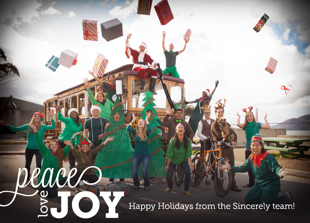 It\'s Company Holiday card time! | Sincerely Blog | Holiday card ...