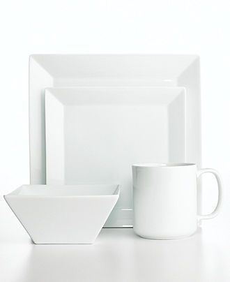 The Cellar Whiteware Square Collection, Created for Macy\'s ...