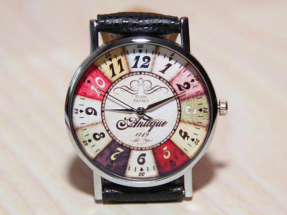 Antique Watch Unique Watches Men S Watches Women S Watches Color Watches Vintage Color Wheel Watch Jew Watches Unique Antique Watches Minimalist Jewelry