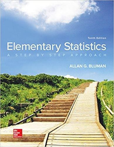Elementary statistics a step by step approach 10th edition by allan elementary statistics a step by step approach 10th edition by allan bluman author isbn 13 978 1259755330 fandeluxe Images