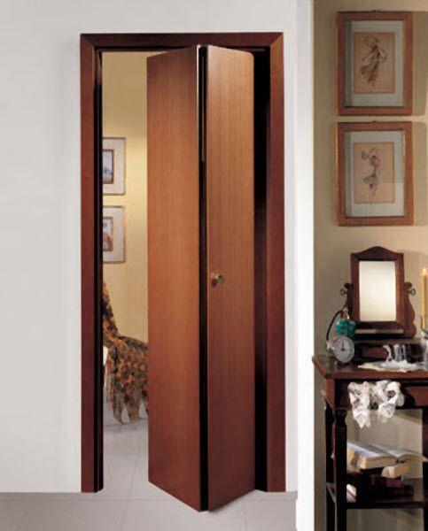ideas para hacer una puerta plegable (2) Puertas Pinterest - puertas de madera para bao