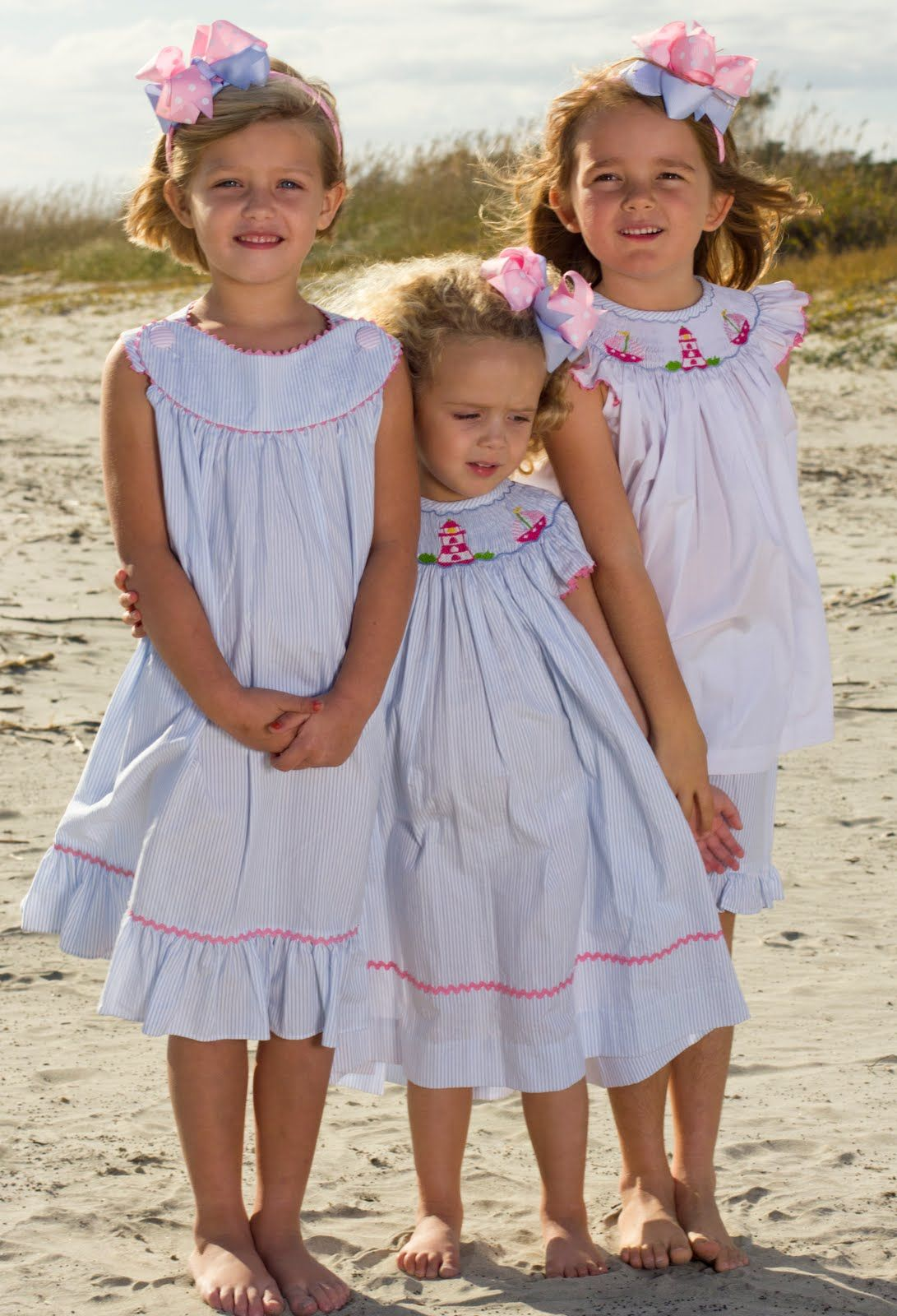 Smocked Sailboats And Lighthouses So Cute For Spring