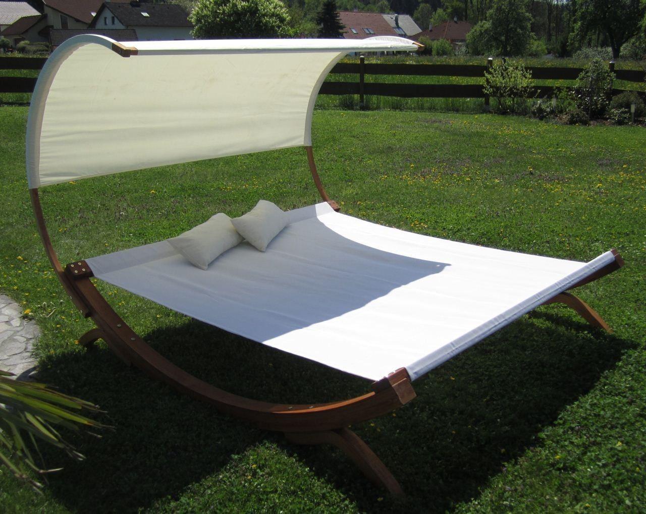 Xxl Sonnenliege Saona Extrabreit Fur 2 Personen Alles Fur Garten Und Terrasse Gartenmobel Sonnenliegen Sonnenliege Gartenliege Doppelliege