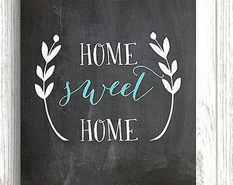 Chalkboard Prints. Home Decor ...