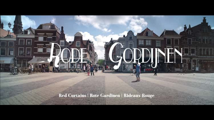 rode gordijnen red curtains short film