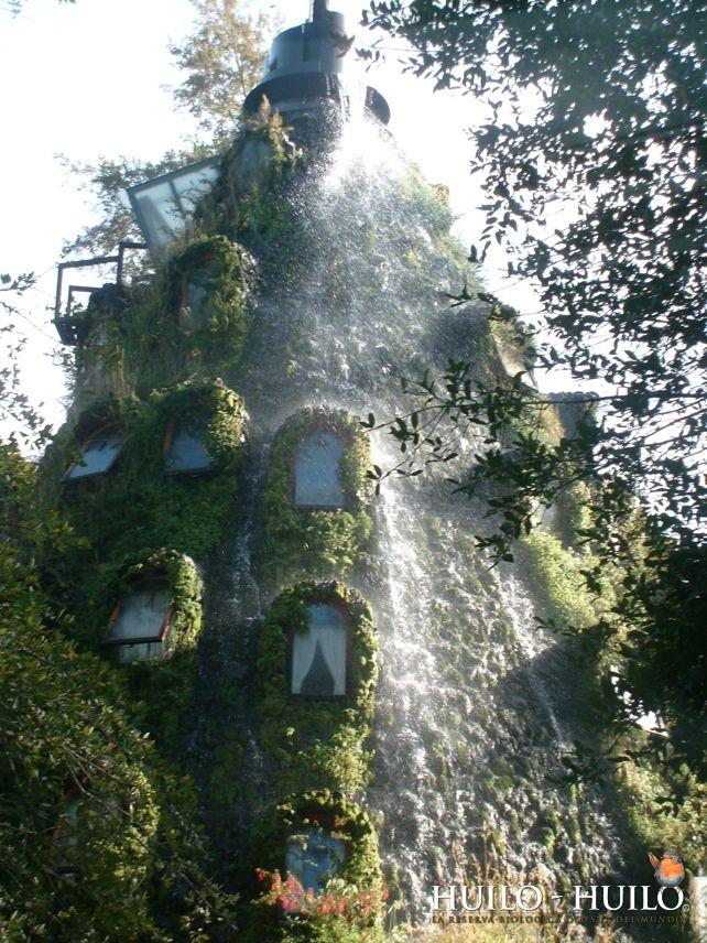 チリの魔法の山のようなホテル