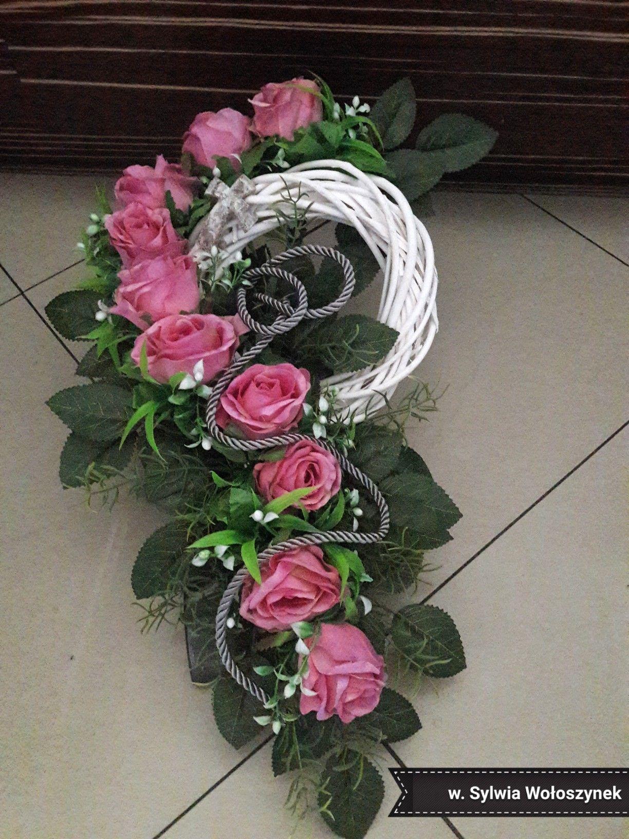 Kompozycja Nagrobna 2018r Wyk Sylwia Woloszynek Flower Arrangements Flower Decorations Beautiful Flower Arrangements