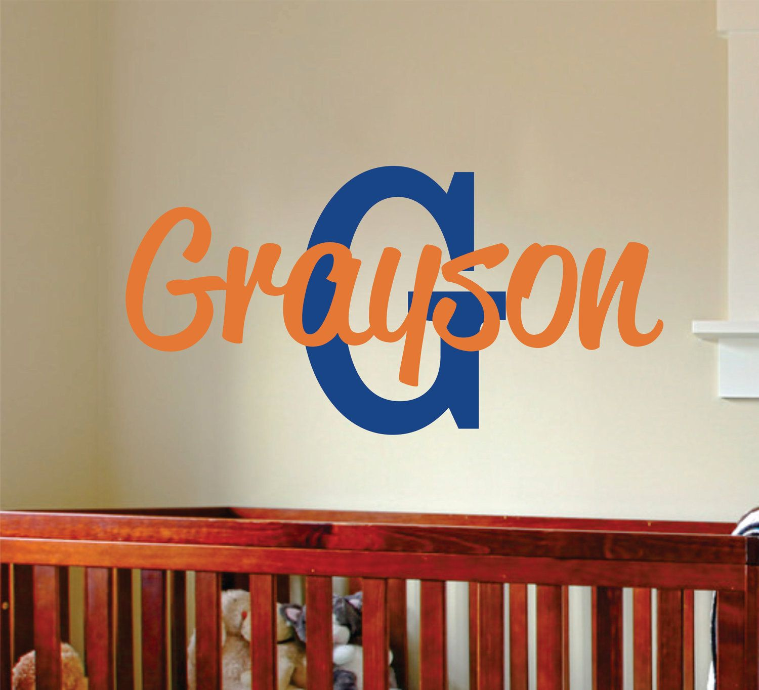 Boys Name Wall Decal Name Wall Decal Teen Boy Vinyl Wall Art - Personalized custom vinyl wall decals for nurserypersonalized wall decals for kids rooms wall art personalized