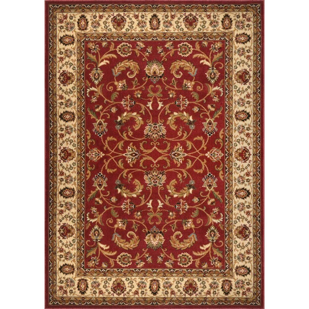 Ivory 8 Ft X 10 Indoor Area Rug