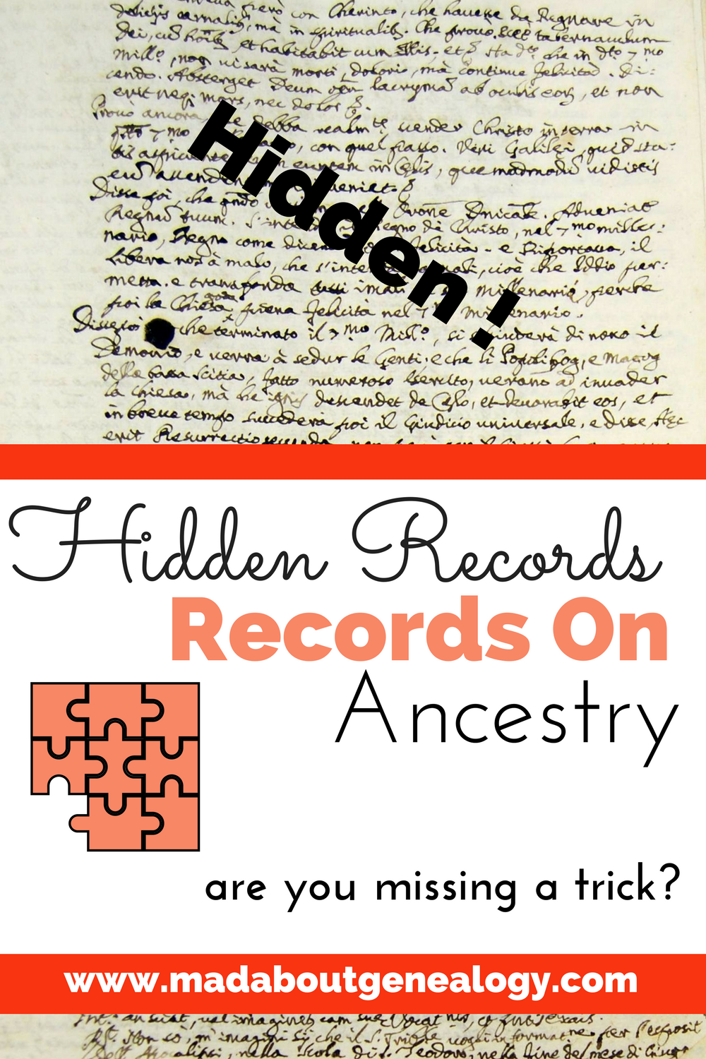 Hidden Records on Ancestry - are you missing a trick?
