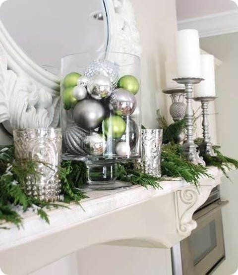 All Aglow Holiday Décor for the Fireplace Holidays, Christmas