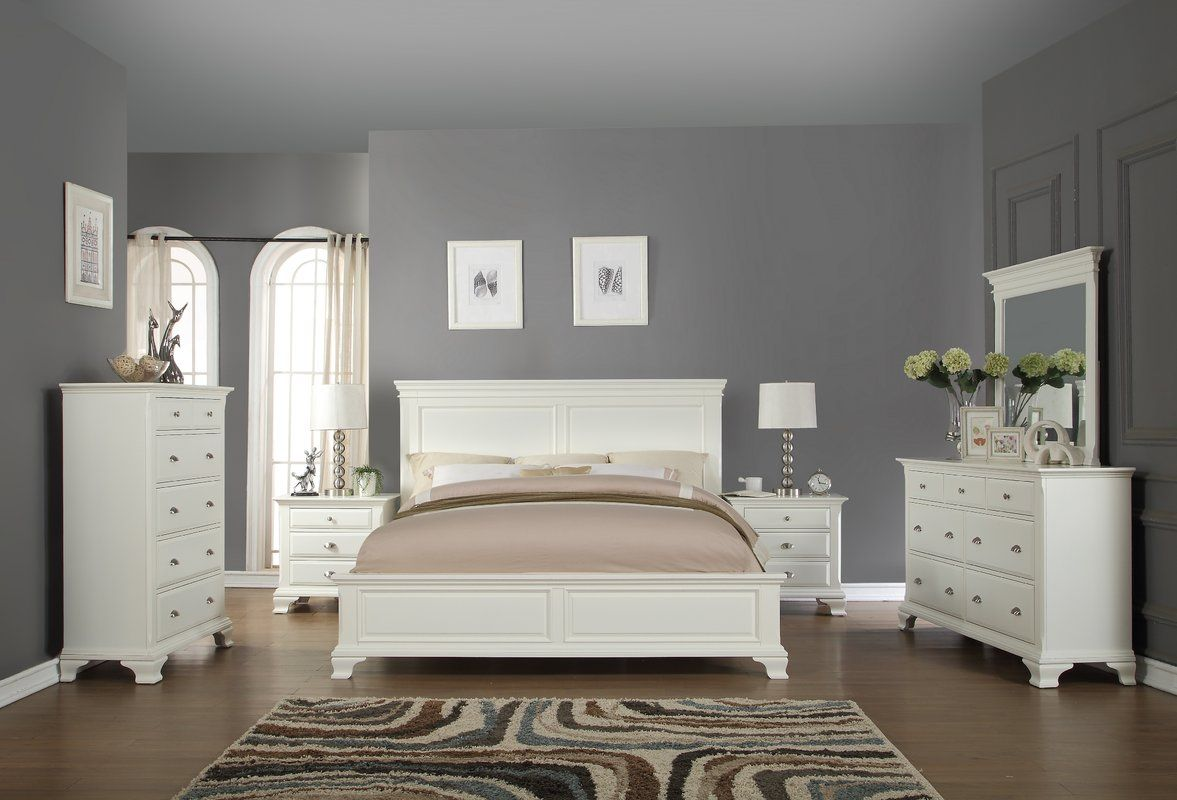 Darby Home Co Fellsburg Panel 6 Piece Bedroom Set ...