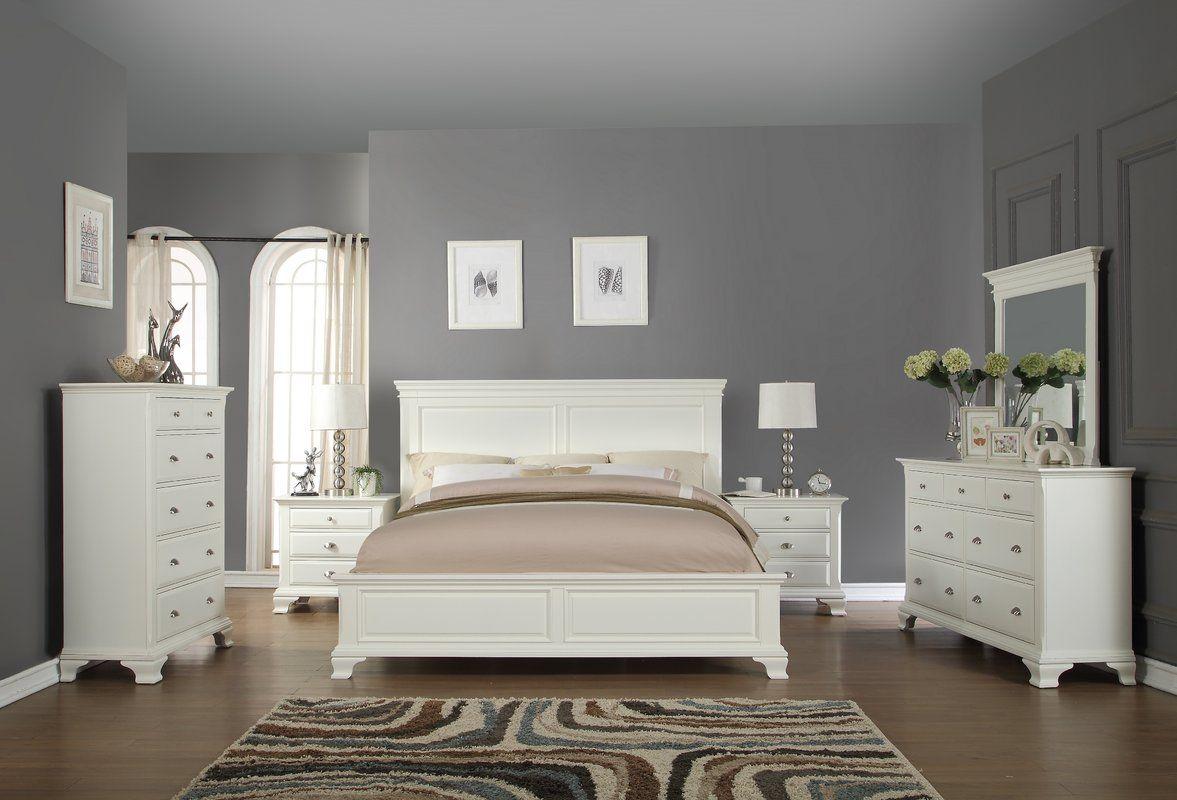 Fellsburg Panel 6 Piece Bedroom Set In 2019 Furniture