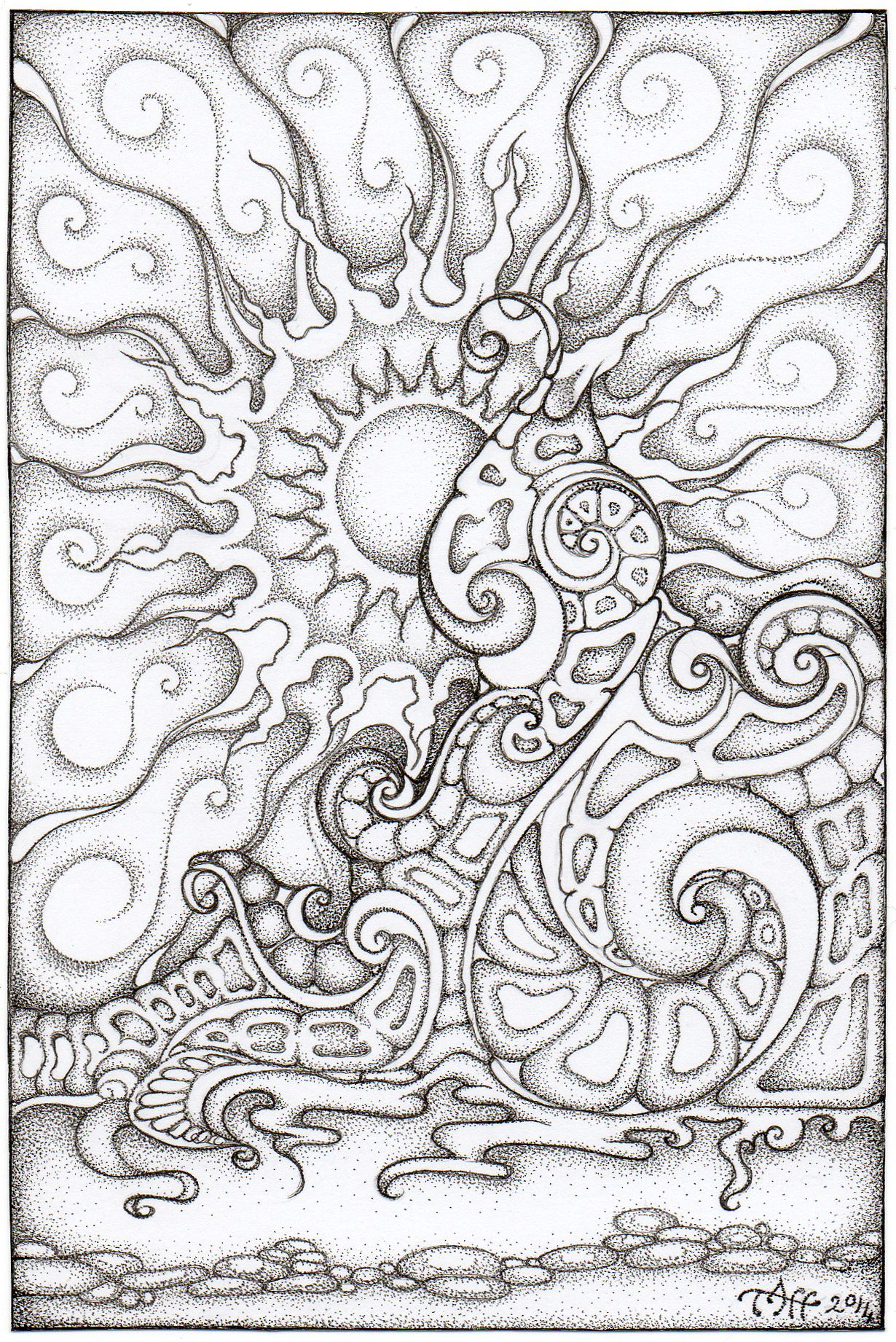Onewave 6x4 By Tapwatertaffy D79pz72 Jpg 1230 1842 Coloring Pages Adult Coloring Pages Adult Coloring