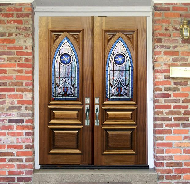 Dbyd 7016 This Pair Of 32 Quot X 80 Quot Mahogany Double Doors