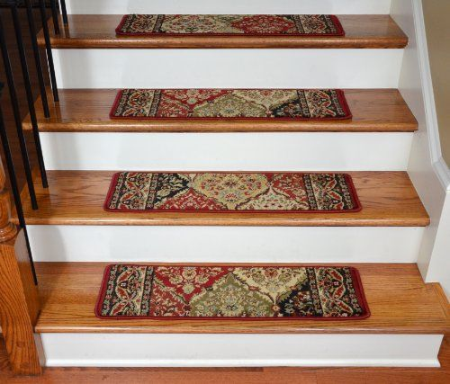 Best Dean Premium Carpet Stair Treads – Panel Kerman 31″W Set 640 x 480
