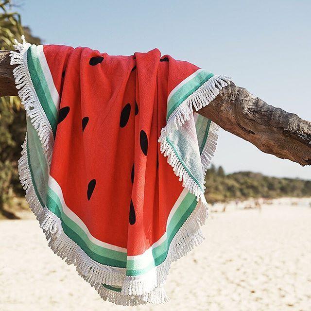 #Watermelon #Beach #summer