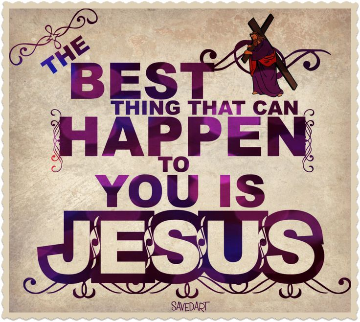 """I've pursued worldly """"successes"""" when I was younger... but the best thing ever is my relationship with Jesus. By far!"""