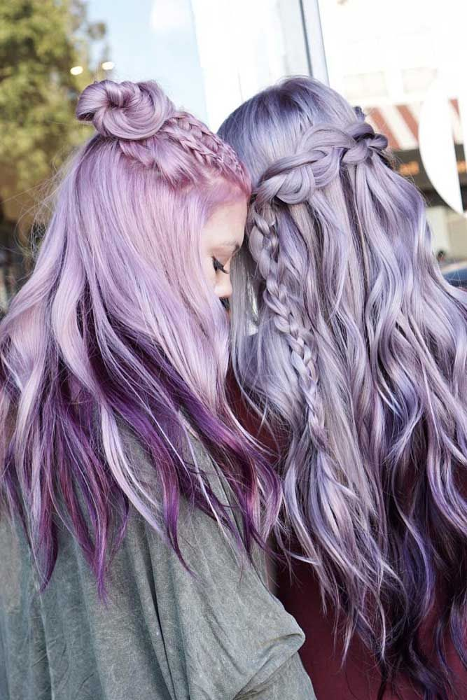 33 Light Purple Hair Tones That Will Make You Want to Dye ...