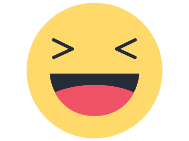 Facebook Haha Emoji Reacao