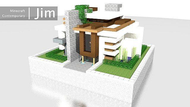 Minecraft Contemporary Project: Jim | A Blaizecraft Build Minecraft ...