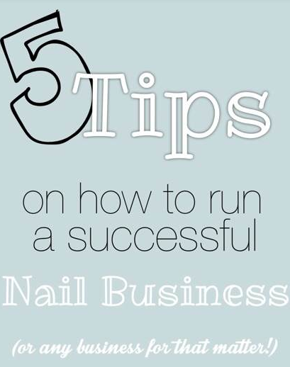 5 Tips On How To Be A Successful Nail Tech | Nail Technician Courses ...