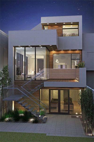 Overhangs with light modern architecture house design townhouse also fssh shame fsshshame on pinterest rh
