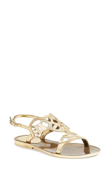 772263e331f1 STUART WEITZMAN  Gelfisher  Flat Slingback Sandal (Women).  stuartweitzman   shoes  flats