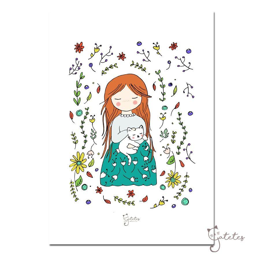 """Image of Lámina """"Nature"""""""