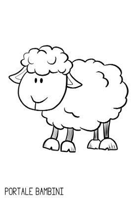Disegni Di Animali Da Stampare E Colorare Gratis Portale Bambini Disegni Di Animali Carini Disegnare Animali Disegno Per Bambini