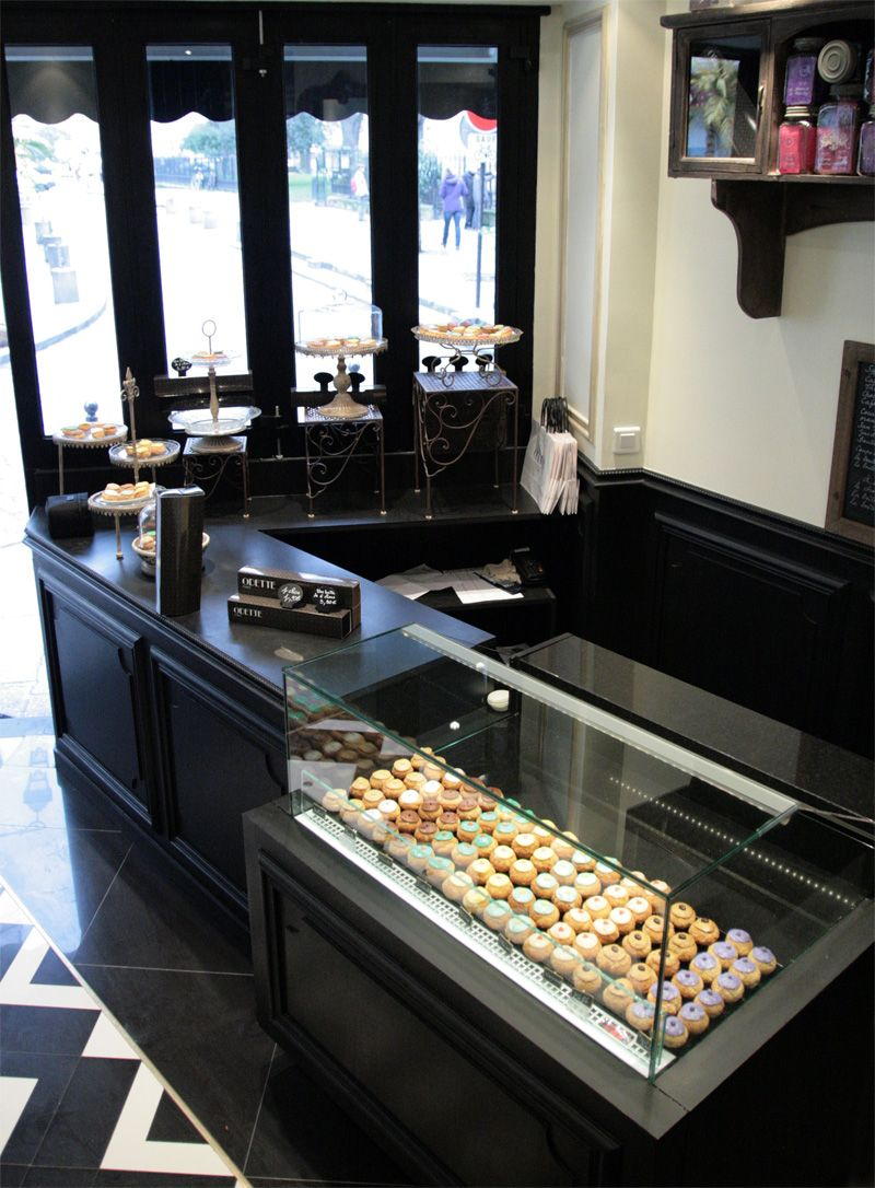 Patisserie Salon De Thé Paris Kellyv Began This Morning Here Savoring A Little Pillow Of
