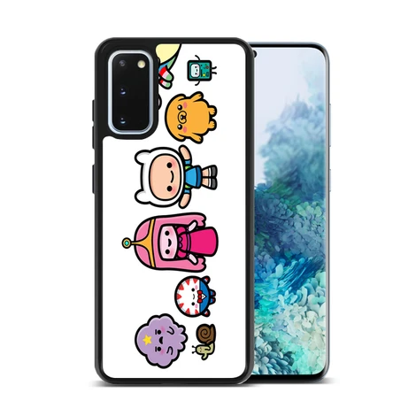 Adventure Time Cute Characters Samsung Galaxy S20 Plus Case | Casacases