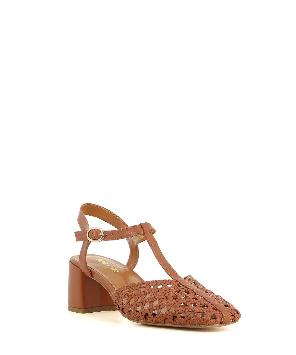2 Baia Vista Vala Brandy Zomp Shoez In 2020 Woven Sandals Ankle Strap T Strap