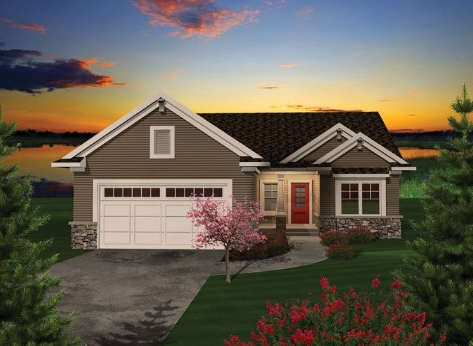 Ranch Style House Plan 2 Beds 2 Baths 1680 Sq Ft Plan 70 1111