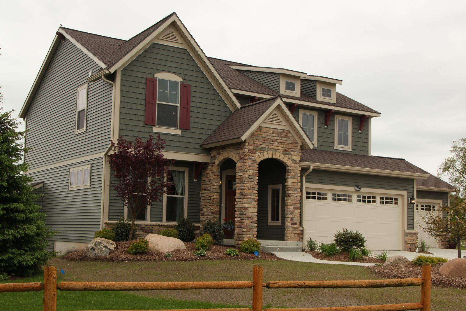 Eastbrook homes building newhomes in muskegon grand for Holland house design