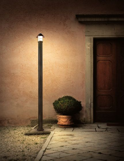 Garden designer standing floor lights from il fanale ✓ all information ✓ high resolution images ✓ cads ✓ catalogues ✓ contact information ✓