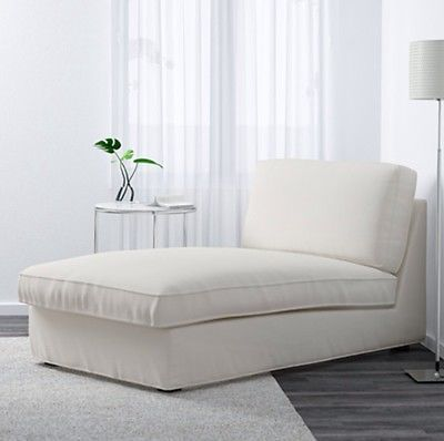 Ikea Kivik Chaise Lounge Slipover Cover Only Dansbo White 702 755 76 New Chaise Lounge Living Room Chaise Lounge Slipcover Chaise