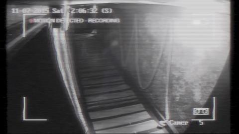 Ghostly footage filmed at Warrington night club