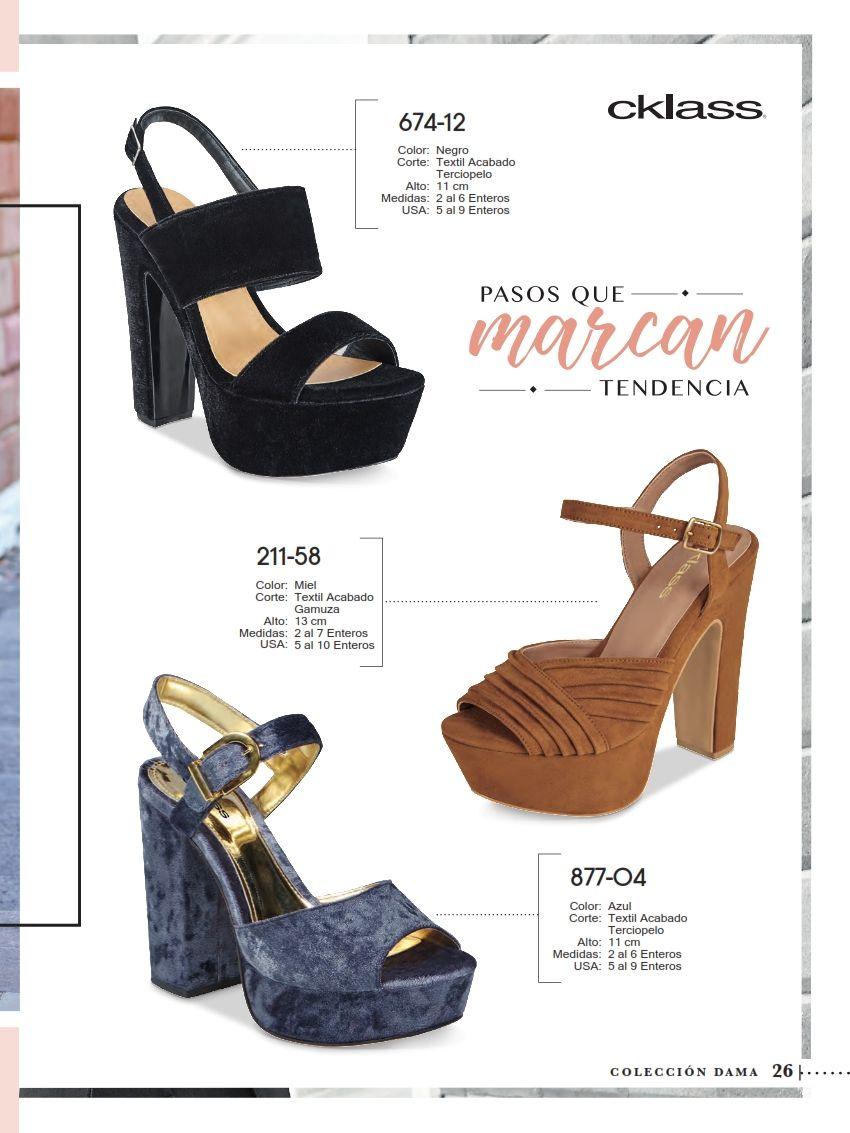 8048f15ca4d7 Catálogo de Zapatos Cklass Dama Otoño Invierno 2017 | Cklass ...