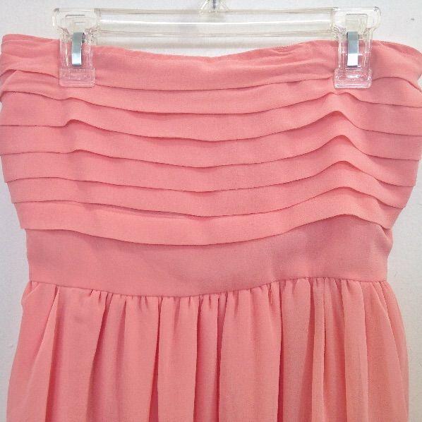 Pink Chiffon Summer Dress