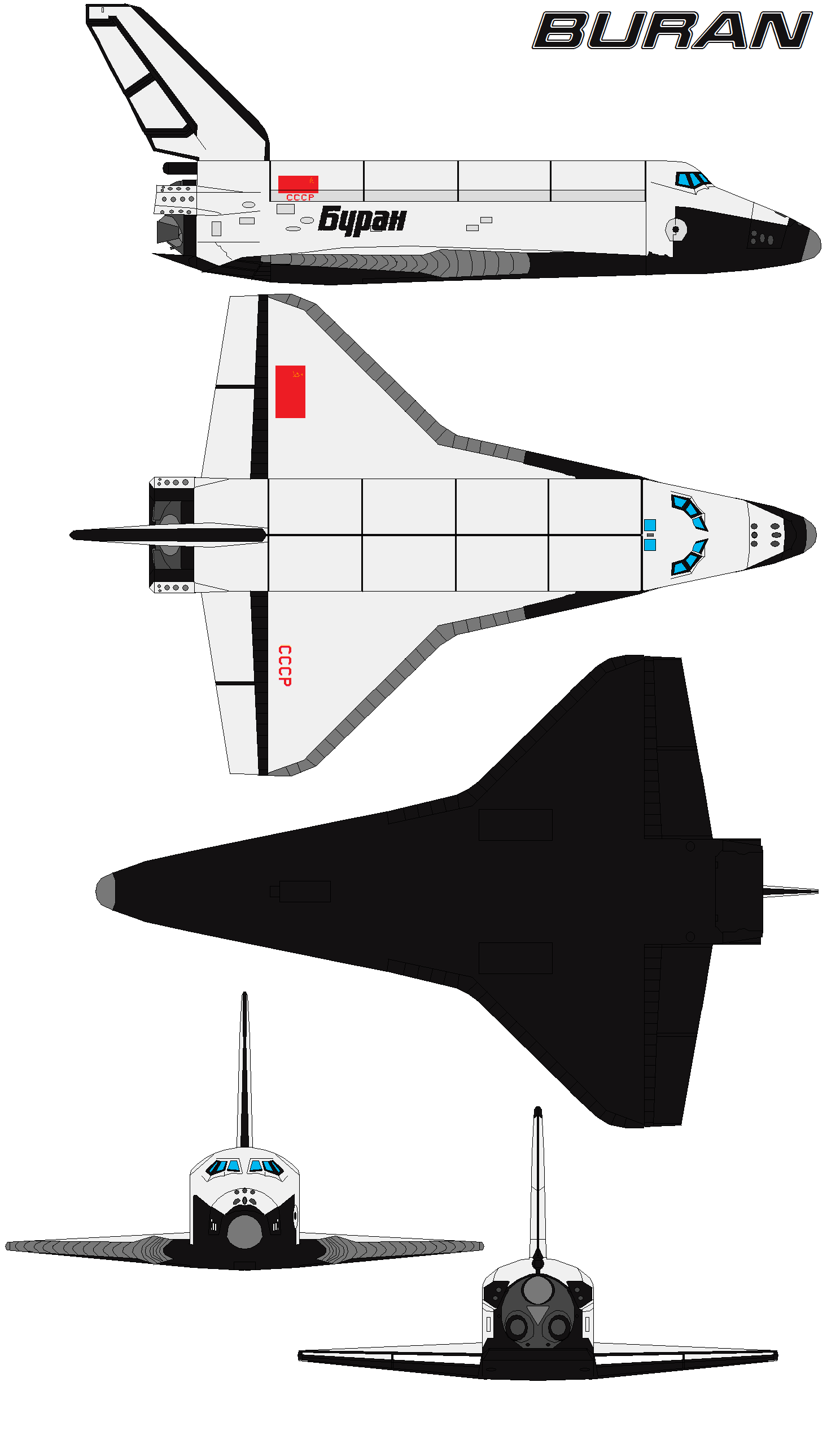 Space Shuttle Buran By Bagera Viantart On