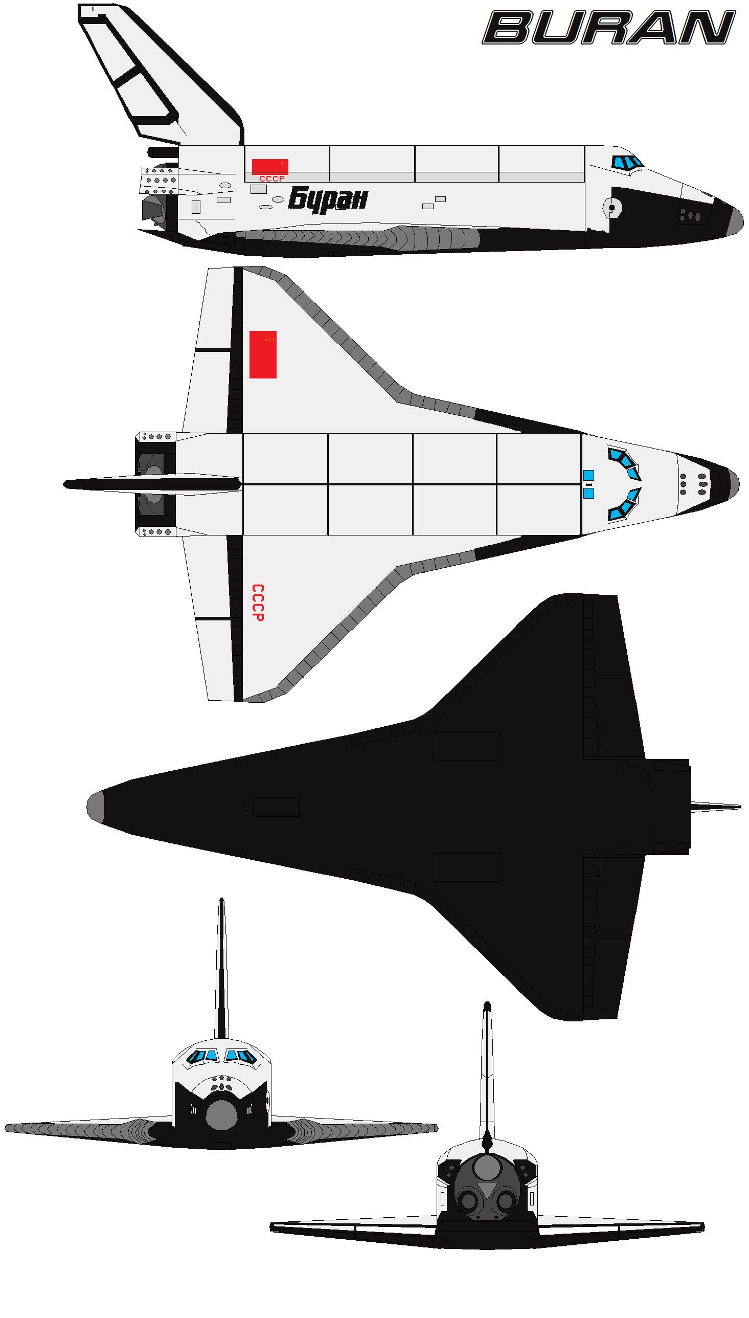 Space Shuttle Buran By Bagera Viantart On