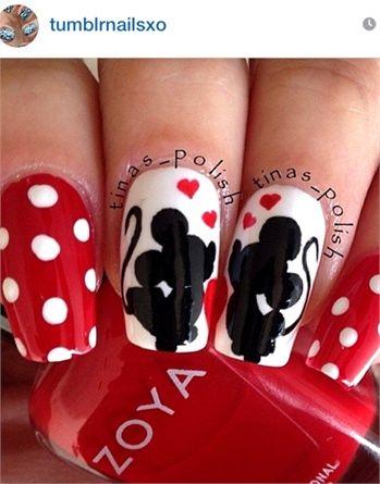 Nail art, da Instagram tutte le unghie per San Valentino , VanityFair.it  Disney