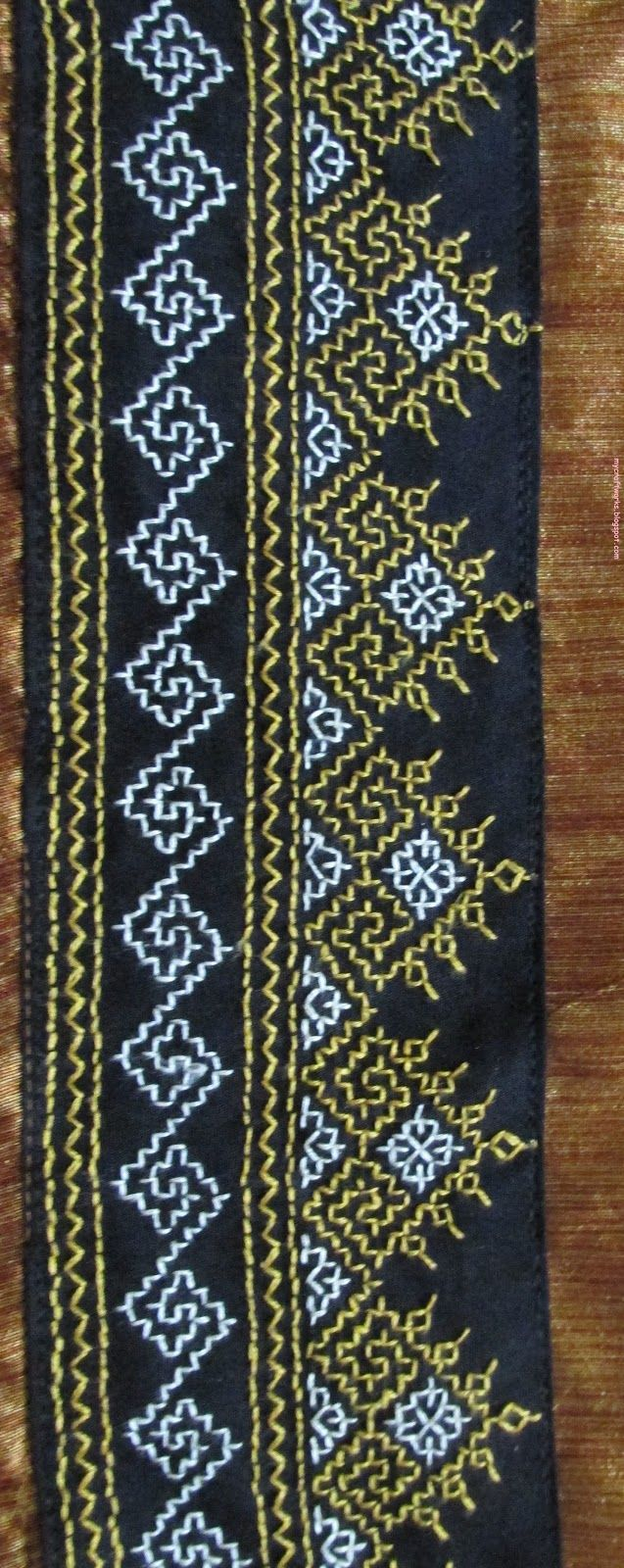 My Craft Works Kasuti Embroidery Tops | Kutchi Patterns | Pinterest | Embroidery Craft And ...