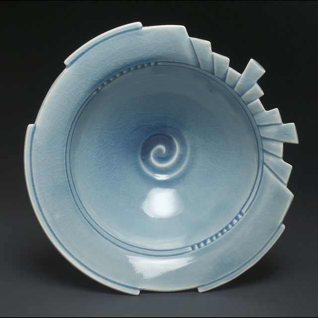 Linda Heisserman My Favorite Blue Pottery Bowls