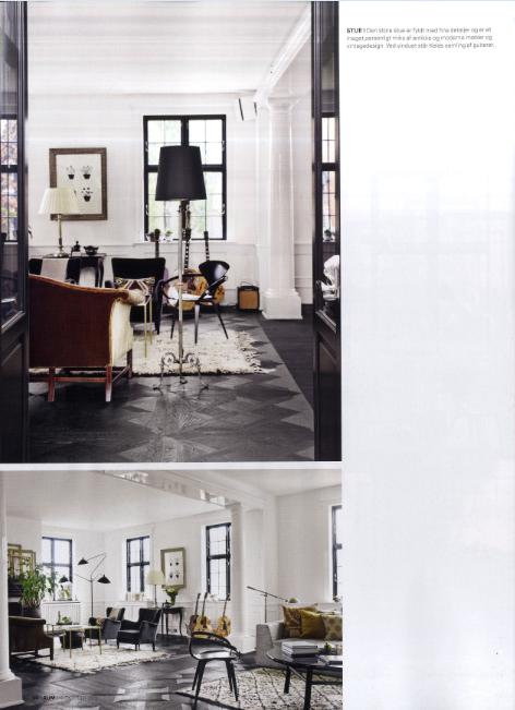Keld Mikkelsens & Marianne Brandis home in Hellerup - at DAY home - RUM Interiør design